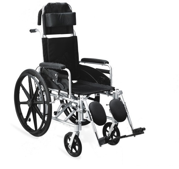 Deluxe Self-Handled Fully Reclining Wheelchair Lightweight 160?Adjustable High Back  sc 1 st  KarePro Medical Equipment Corporation Limited & Reclining Wheelchair - Live Better islam-shia.org